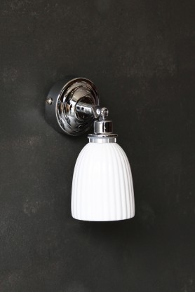 Alma Chrome Wall Light