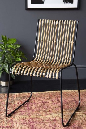 Andilana Wicker Garden Dining Chair
