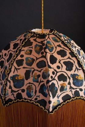 Anna Hayman Designs DecoFabulous Blush Giraffe Lamp Shade