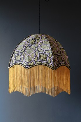 Anna Hayman Designs DecoFabulous Pink Sgt. Pepper Pendant Shade