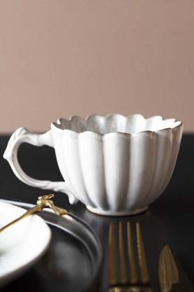 Antique White Chateau Mug
