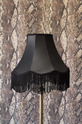 Image of the Medium Bell Lamp Shade with Fringing