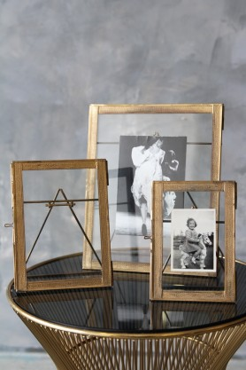 Desktop Brass Frame - 3 Sizes Available
