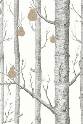 Cole & Son Contemporary Restyled - Woods & Pears Wallpaper - 3 Light Colours Available