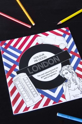Colour Me Good London Adult Colouring Book