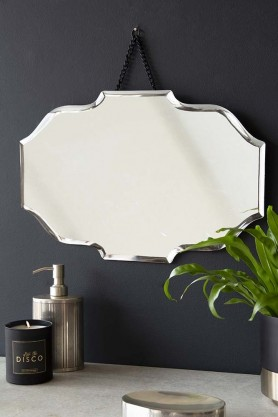 Decorative Bevelled Edge Hanging Mirror