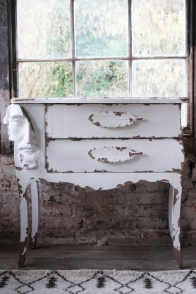 Distressed Faces Dresser