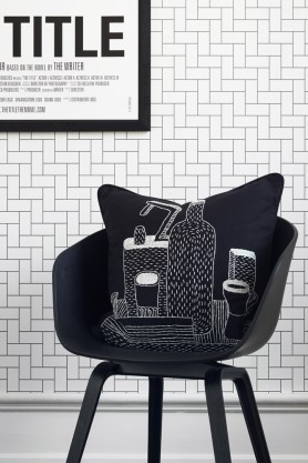 Engblad & Co Brick Wallpaper - 2 Colours Available