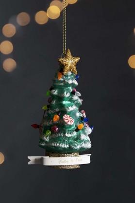 Festive As Fuck Christmas Tree Hanging Decoration