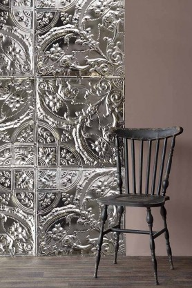 Filigree Tin Tile