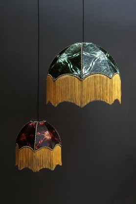 Anna Hayman Designs DecoFabulous Green Talon Pendant Shade
