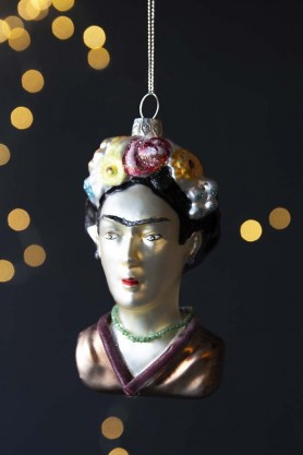Lifestyle image of the Frida Kahlo Inspired Hanging Decoration