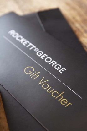 Gift Cards & E Vouchers