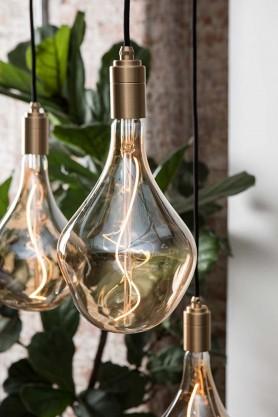 E27 3W LED Hand Blown Glass Effect Bulb