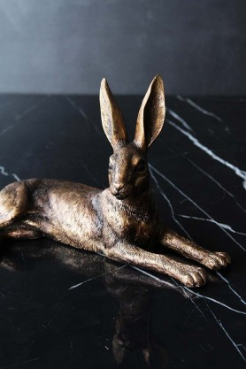 Golden Hare Ornament