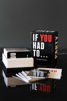 If You Had To... Card Game
