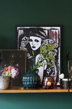 Unframed Boho Chic Art Print by Anna Hayman