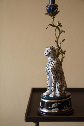 Wild Cheetah Decorative Candle Holder