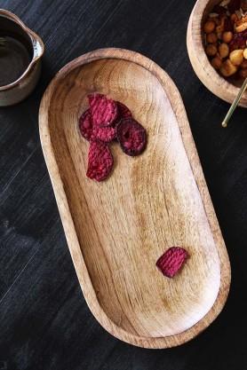 Mango Wood Sushi Platter