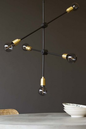 Molecular Ceiling Light