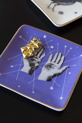 Hands, Eyes & Constellation Trinket Tray