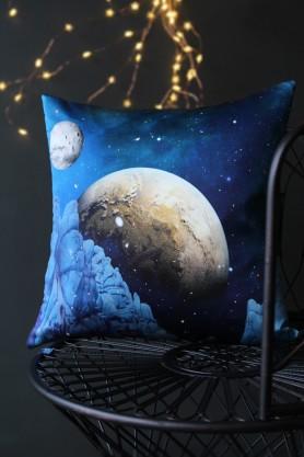 Elli Popp Luna Rock Silk Cushion