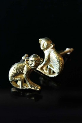 Set Of 2 Monkey Drawer Knobs