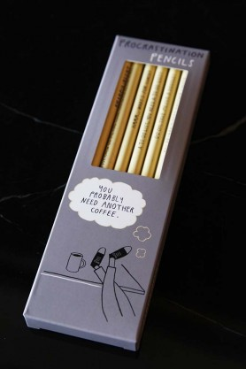Sharp & Blunt Procrastination Pencil Set
