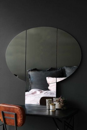 Large Side-View Mushroom Mirror