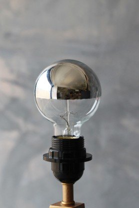 ES27 40W Small Globe Squirrel Cage Bulb