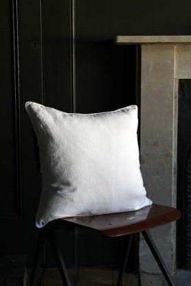 Lisbon Soft Linen Cushion - White