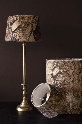 Rockett St George Sexy Snakeskin Lamp Shade