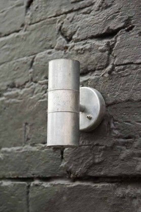 St Ives Hot Dipped Up & Down Wall Light - Small