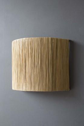 Straw Wall Lamp Shade