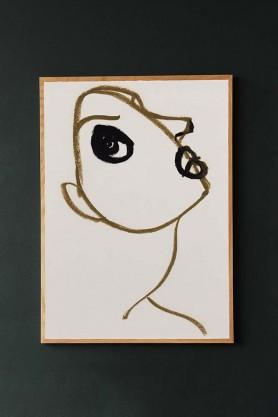 Unframed Silhouette 02 Art Print by Amelie Hegardt