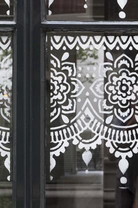 Amsterdam Mandala Stencil For Decorating Edges