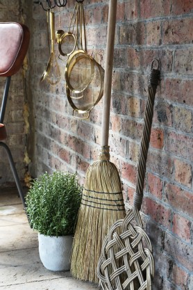 Traditional Willow Broom