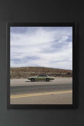 Unframed Bisbee Roadside Art Print