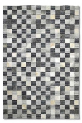 cutout image of Safari 01 Chequered Rug - 2 Sizes Available on white background