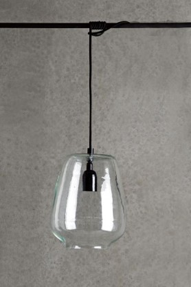 Simple Glass Pendant Ceiling Light