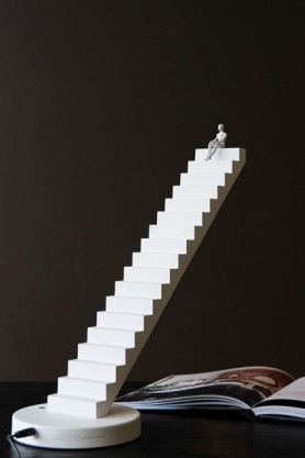 Stairway To Heaven Touch Lamp - White