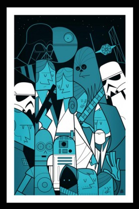 Unframed Star Wars Fine Art Print