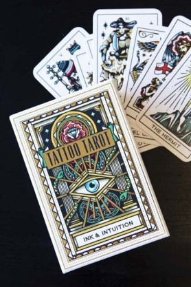Tattoo Tarot Cards: Ink & Intuition