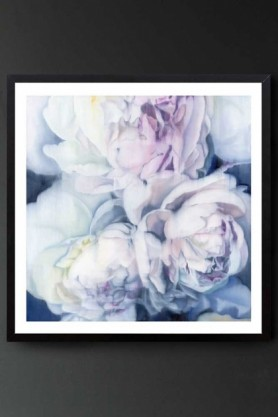 """Lifestyle image of the Unframed Art Print by Amy Carter """"Fall From Grace"""""""