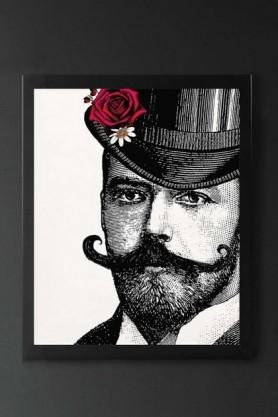 Unframed Dashing & Dandy Gentleman Open Edition Art Print