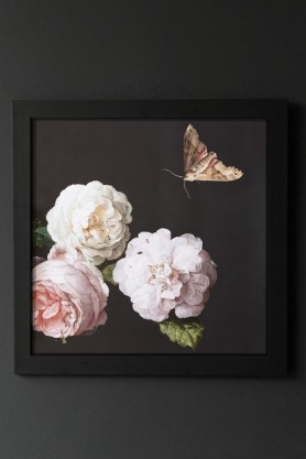 Unframed Peony Rose Floral Art Print