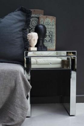 Venetian Mirrored Bedside Table