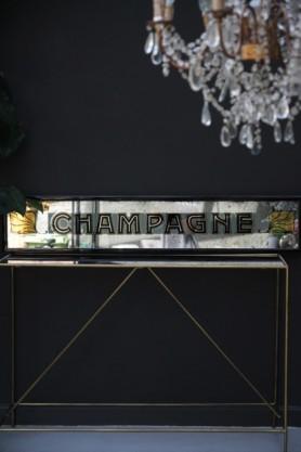 Vintage Style Champagne Mirror