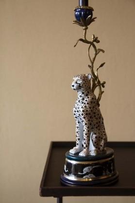 Wild Cheetah Decorative Candle Holder