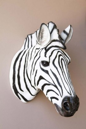 Zebra Head Wall Art